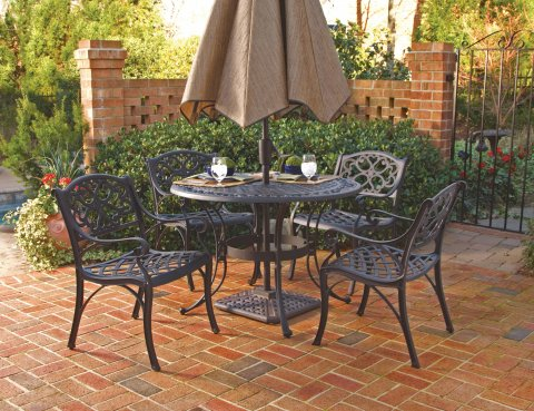 Del Rey Outdoor Table & Chairs D5554-308