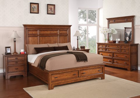 W1572 River Valley Bedroom Group Lifestyle