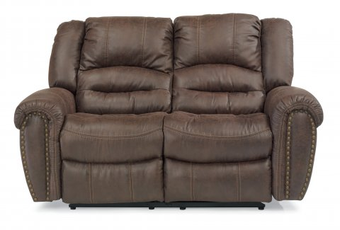 Downtown Fabric Power Reclining Loveseat 1710-60P in 349-70