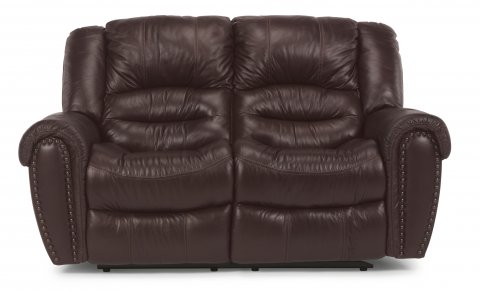 Crosstown Leather Reclining Loveseat 1210-60 in 048-62