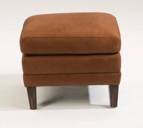 Max Leather Ottoman 1282-08 in 441-54