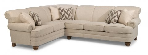 Bay Bridge Sectional 7790-SECT shown with 33 & 38 pieces in 424-80
