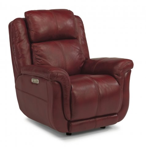 Brookings Leather Power Gliding Recliner with Power Headrest 1251-54PH in 418-60