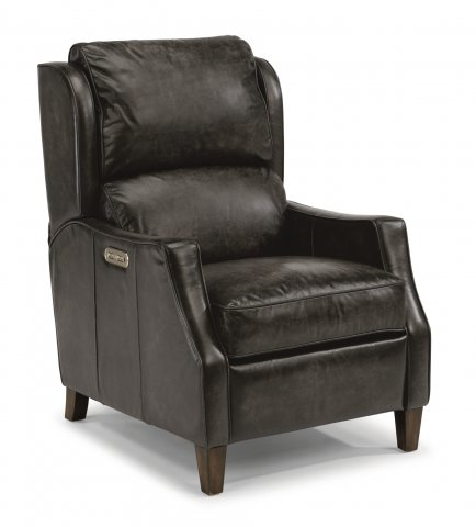 Ethan Leather Power High-Leg Recliner with Power Headrest 1224-50PH in 027-02
