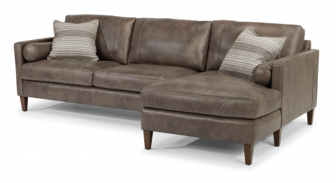 2 Leather sofas Facing Each Other