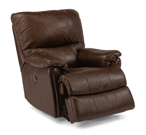 Stockton Leather Power Recliner 1217-500P in 014-71