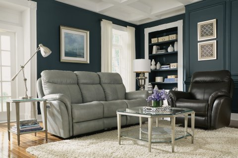 Zoey Power Reclining Sofa Lifestyle