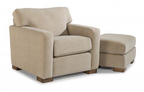 Bryant Chair B3399-10 & Ottoman B3399-08 in Kashmira 023-01