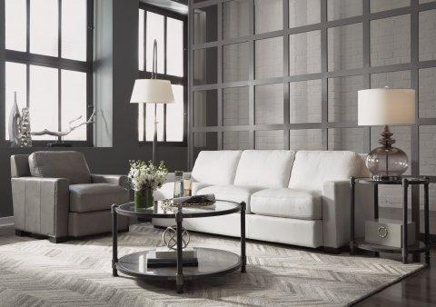 Blake Leather Sofa Lifestyle