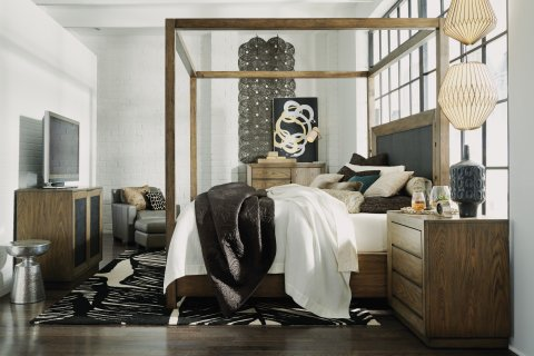 Maximus Queen Canopy Bed W1044-90Q