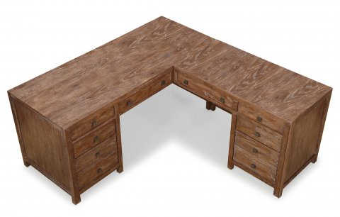 Hampton L-Shaped Desk W1348-748
