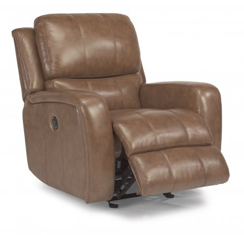 Hammond Leather Power Gliding Recliner 1157-54P in 555-74