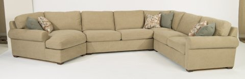 Randall Sectional 7100-SECT shown with 255, 29, 231, & 28 pieces in 726-80