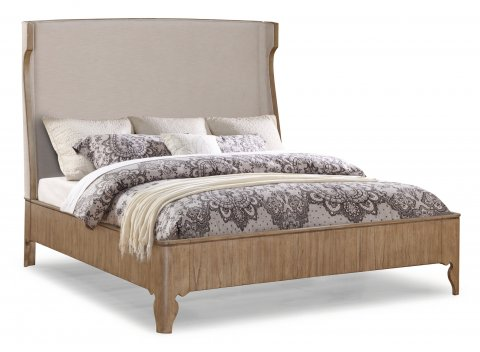 Miramar Queen Upholstered Bed W1049-90Q