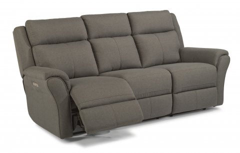 Pike Power Reclining Sofa with Power Headrests 1404-62PH in 564-02