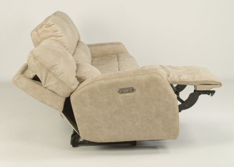 Cooper Power Reclining Sofa with Power Headrests 1422-62PH in 744-11