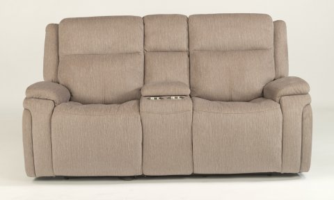 Rocket Power Reclining Loveseat with Console and Power Headrests 1486-64PH in 649-72