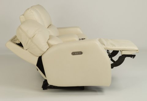 Cooper Power Reclining Loveseat with Console and Power Headrests 1423-64PH in 326-10