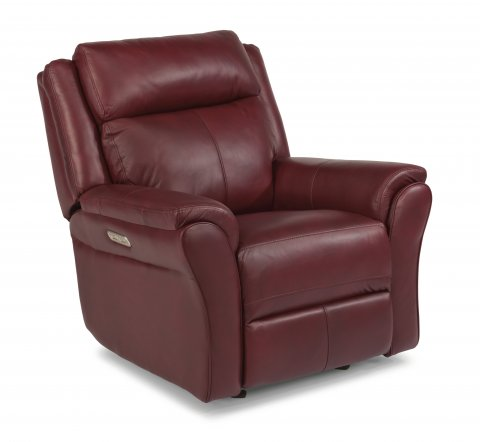 Pike Power Gliding Recliner with Power Headrest 1405-54PH in 638-60