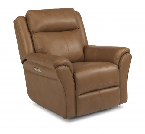 Pike Power Gliding Recliner with Power Headrest 1405-54PH in 638-=