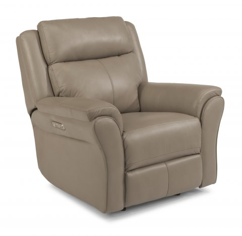 Pike Power Gliding Recliner with Power Headrest 1405-54PH in 638-82