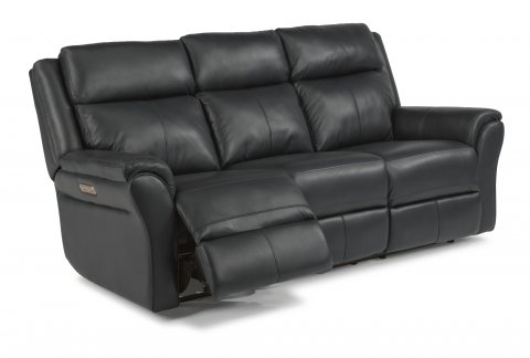 Pike Power Reclining Sofa with Power Headrests 1405-62PH in 638-42