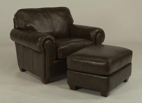 Carson Chair B3937-10 & Ottoman B3936-08 | B3937-08