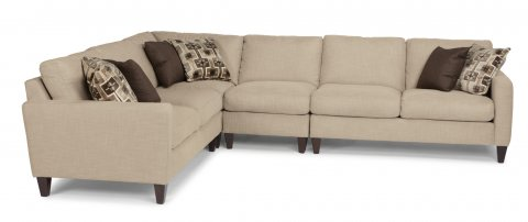 River Sectional 7009-SECT shown with 27, 231, 19, & 28 pieces in 560-80