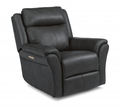 Pike Power Gliding Recliner with Power Headrest 1405-54PH in 638-42