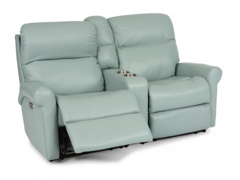 Davis Power Reclining Sectional with Power Headrest 3902-SECTPH shown with 57H, 72, & 58H pieces in 842-42