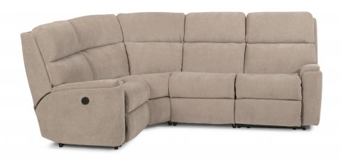 Rio Fabric Power Reclining Sectional 2904-SECTP shown with 57P, 23, 19, & 58P pieces in 116-80