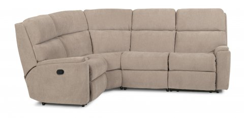 Rio Fabric Power Reclining Sectional 2904-SECT shown with 57, 23, 19, & 58 in 116-80