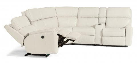 Rio Fabric Power Reclining Sectional 3904-SECTP shown with 57P, 19, 23. 72, & 58P pieces in 824-11
