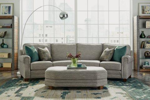 Gretchen Conversation Sofa Lifestyle