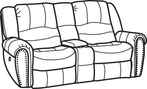 sofa coloring pages - photo#22
