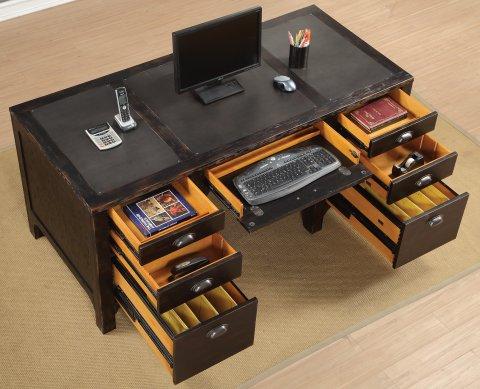 Homestead Executive Desk W1337-734