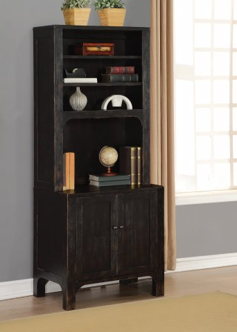 Homestead Cabinet W1337-753 & Bookcase Hutch W1337-746