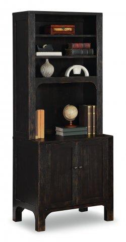 Homestead Cabinet W1337-753 & Bookcase Hutch W1337-746