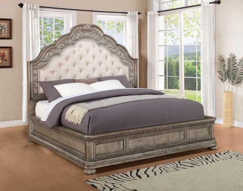 San Cristobal Queen Upholstered Bed W1957-90Q