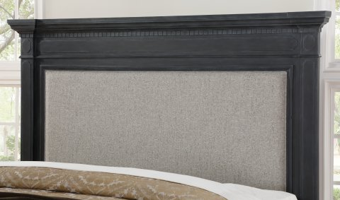 Charleston Queen Upholstered Bed W1061-90Q