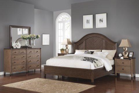W1046 Carmen Bedroom Group Lifestyle
