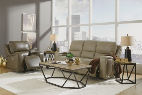 Blade Power Reclining Sofa with Power Headrests Lifestyle