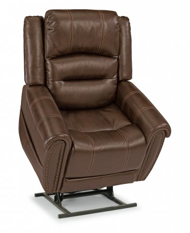 Oscar Lift Recliner with Right-Hand Control & Power Headrest 1591-55PH in 375-72