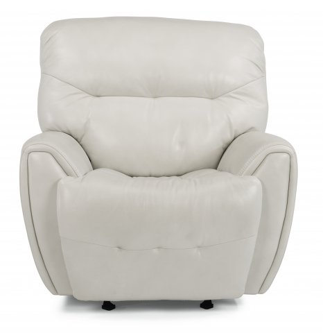 Blaise Leather Power Gliding Recliner with Power Headrest 1573-54PH in 014-19