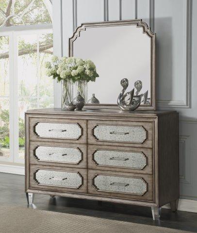 Vogue Dresser W1063-860 & Mirror W1063-881