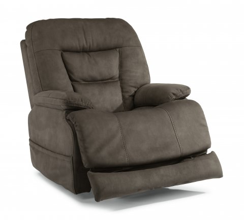 Stanford Fabric Power Recliner with Power Headrest 1588-50PH in 373-02