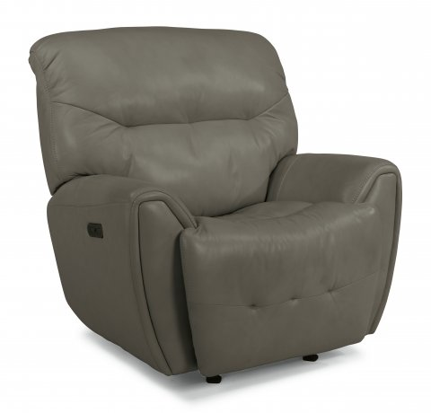 Blaise Leather Power Gliding Recliner with Power Headrest 1573-54PH in 014-07