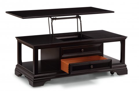 Camberly Rectangular Lift-Top Coffee Table with Casters W1429-0311