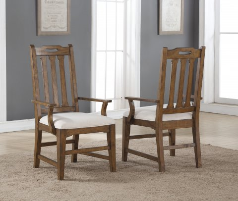 Sonora Upholstered Arm Dining Chair W1134-843