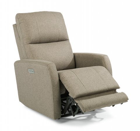 Sadie Fabric Power Recliner with Power Headrest 1702-50PH in 631-80